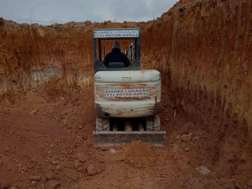 Locação de Escavadeira Carapicuíba