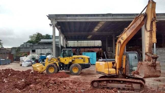 Locação de Escavadeira em São Paulo
