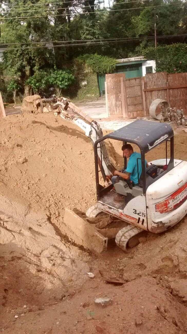 Locação de Mini Escavadeira Barueri